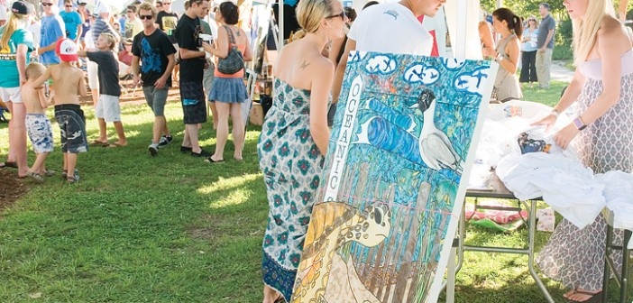 Lumina News file photo. A music and art festival introduced in 2011 will return to Wrightsville Beach Park for one day of the Ninth Annual O'Neill Sweetwater Pro-Am Surf Fest, scheduled for July 11-13 in Wrightsville Beach.