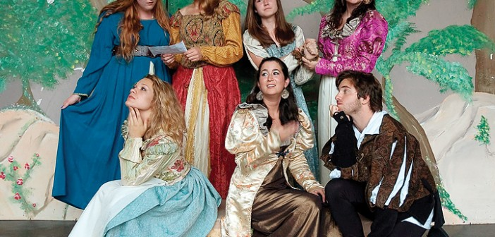 "Supplied photo courtesy of Shakespeare on the Green. The Shakespeare Youth Company will present ""As You Like It"" for ten dates in May and June to open Cape Fear Shakespeare on the Green's Free Shakespeare Festival at Greenfield Lake Amphitheater."