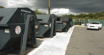 Lumina News file photo.  New Hanover County will take over collection and management of the Wrightsville Beach recycling center though an interlocal agreement with the town.