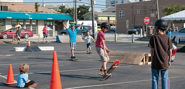 Lumina News file photo. The Wrightsville Beach Foundation will hold Skate Day in the Robert's Market parking lot on Friday, May 30.
