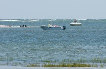 Staff photo by Allison Potter.  To remain navigable, some shallow-draft inlets like Carolina Beach Inlet, pictured above, must be regularly dredged. Rep. Ted Davis Jr. led an effort to secure funds for inlet dredging in a 2014 law passed by the N.C. General Assembly