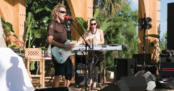 Lumina News file photo. Selah Dubb plays the inaugural Reef/Sweetwater Music and Art Festival at Wrightsville Beach Park on July 16, 2011.