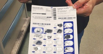 Staff photo by Miriah Hamrick. Pennsylvania-based Diamond Pharmacy fills prescriptions for New Hanover County jail inmates in blister packs, like above, instead of bottles.