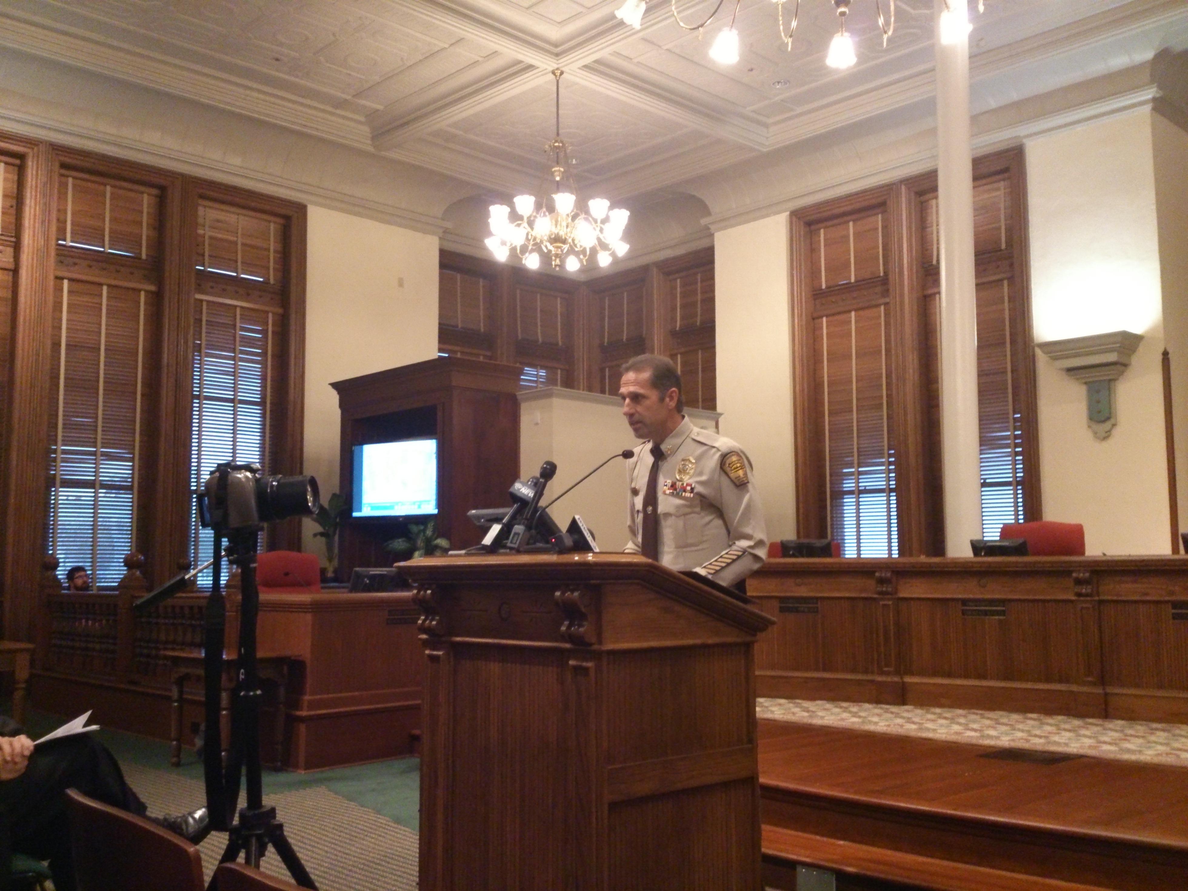 Sheriff releases video in Ron Hewett death - Lumina News