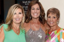 Lumina News file photo. The Last Chance for White Pants 2011 event chairperson Sandy Spiers, 2012 event chairperson Sharon Laney and 2013 event chairperson Lisa Weeks attend last year's fundraiser August 30, 2013.