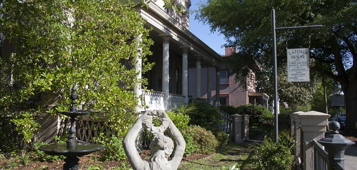 Lumina News file photo. The Latimer House gardens are included in the Lower Cape Fear Historical Society's 2014 Secret Garden Tour.
