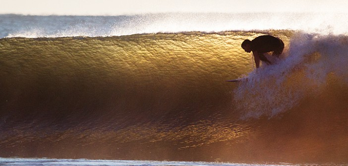 Golden swell courtesy of Gonzalo