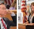 Staff photos by Allison Potter.  Sen. Michael Lee R-District 9, left, and Elizabeth Redenbaugh.