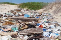 Supplied photo courtesy of Sean Ahlum. Sean Ahlum discovered a beach on the windward side of Barbados completely covered in plastic refuse that cause him to change his lifestyle to using the least amount of disposable plastics possible.