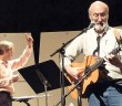 Supplied photo courtesy of Sandy Errante. Noel Paul Stookey rehearses with Dr. Steven Errante and the Wilmington Symphony Orchestra prior to An Evening of Song with Noel Paul Stookey Saturday, Nov. 22 at UNCW's Kenan Auditorium.