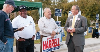 Hickey, Harrell request recounts following election canvass