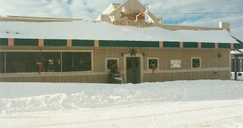 Supplied photo courtesy of David Cignotti and Susan Creasy. The Christmas snowstorm of 1989 dropped 15 inches of snow on King Neptune's Restaurant.