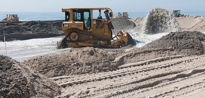 Commission could fight for sand project funding