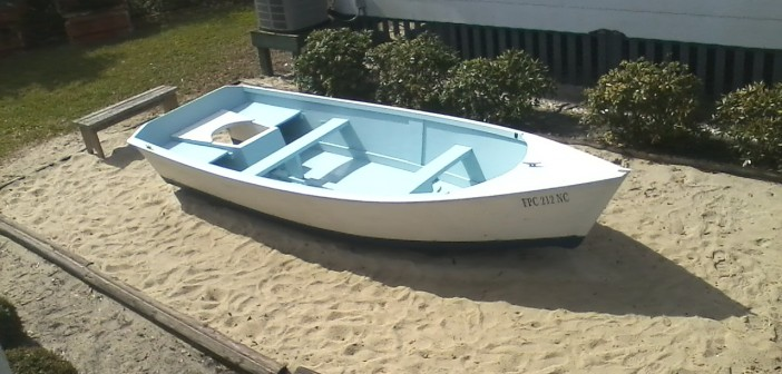 Spruced up museum skiff ready for visitors