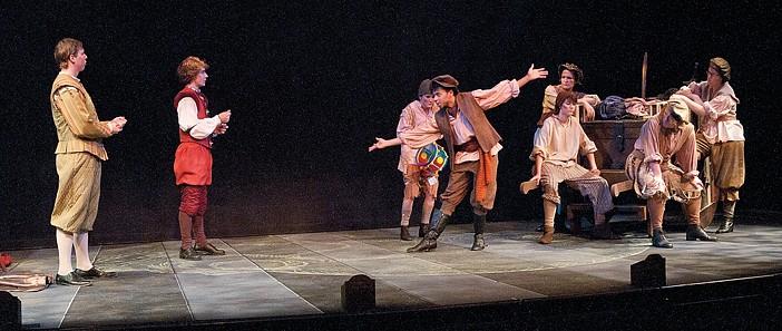 UNCW theatre students perform Hamlet-inspired comedy