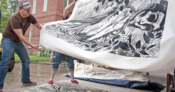 Print Big! Festival supports Full Belly Project