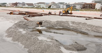 Lumina News file photo .Researchers from the University of North Carolina Wilmington, Duke University and Ohio State University have completed a study of the connection between beach renourishment funding and coastal property values.