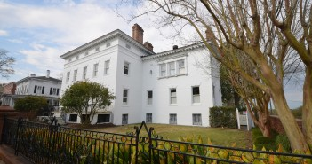 The 1940s period restoration of the 1836 Governor Dudley Mansion earned new owners Mike and Kimberly Hayden a Historic Wilmington Foundation restoration award May 21. Photo courtesy BMH Architects