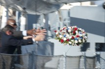 Memorial Day battleship wreath 1181