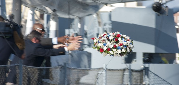 Memorial Day Observance at the Battleship North Carolina