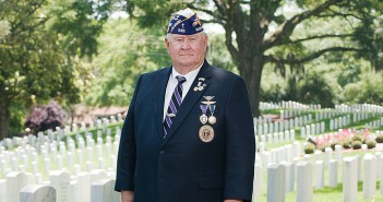 Staff photo by Allison Potter. Bill Ebersbach, commander of the Military Order of the Purple Heart, Chapter 636, will be one of the veterans in attendance at the Memorial Day event scheduled for 11 a.m. May 25 at the Wilmington National Cemetery, located at 2011 Market St.