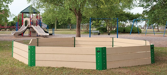 Gaga Pit Completed In Time For Day In The Park Lumina News