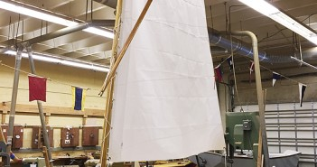 Supplied photo courtesy of Cape Fear Community College. The Cape Fear Community College boat building program exhibited finished projects Wednesday, July 22 before the boats were auctioned on the state surplus website.