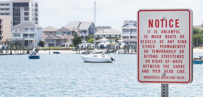 Boaters drop anchor, Wrightsville Beach police enforce mooring laws