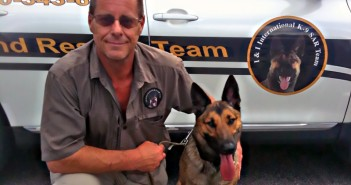 K-9 Jorga and her handler, Randy Searls, are volunteering with the Wilmington Police Department. Courtesy photo.