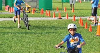 Supplied photo courtesy of the Wilmington Family YMCA. The Wilmington Family YMCA will host a triathlon for kids ages five to 13 Saturday, July 25 at its Market Street location.