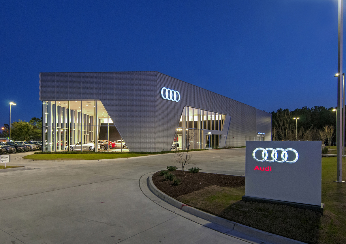wilmington firm awarded for design on audi cape fear dealership lumina news. Black Bedroom Furniture Sets. Home Design Ideas