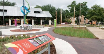 Staff photo by Allison Potter. The Cape Fear Museum's new community park is now open to the public.