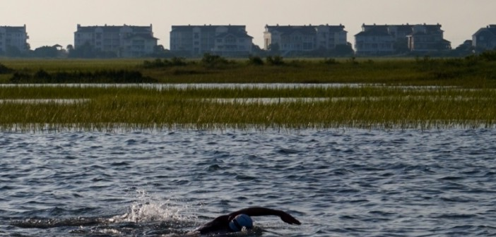 Wilmington man swims 12.6 miles in Wrightsville Beach for MARSOC fundraiser