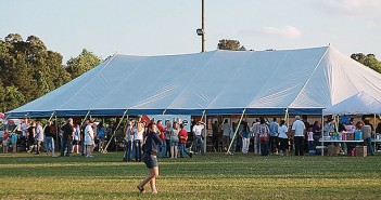 Supplied photo courtesy of Michael Thornton. Ignite Ministries will lead a 10-day tent revival that runs 24 hours each day starting at 7 p.m. Sunday, Sept. 13 in front of Legion Stadium.