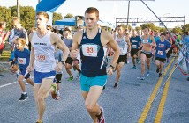 Lumina News file photo. Dylan Skinner runs in the 2014 Son Run at Wrightsville Beach Park Oct. 18, 2014.