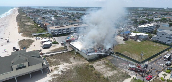 UPDATE: Photos and video from King's Beachwear fire