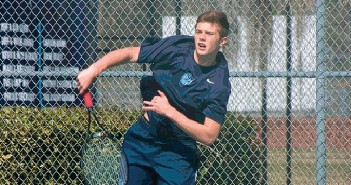Supplied photo. Hoggard High's Holland Baynard, above, the No. 1 seed in the 16 & Under division of this weekend's Country Club of Landfall Junior Classic, will be among the nearly 150 of the state's top tennis players that will compete this weekend.