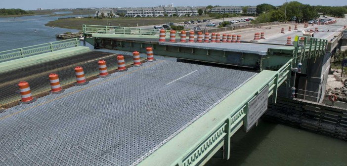 NCDOT concepts for replacing Trask Drawbridge in Wrightsville Beach