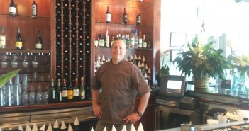 Brent Williams opened Brent's Bistro in the Cross Point Plaza shopping center on Wrightsville Avenue. Staff photo by Terry Lane.