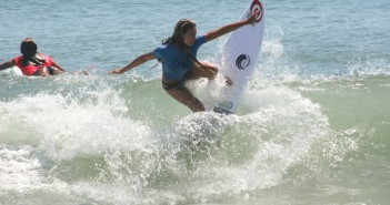 Leah Thompson, of Wrightsville Beach, placed first in three categories at the Wahine Classic on Sunday, Aug. 21.