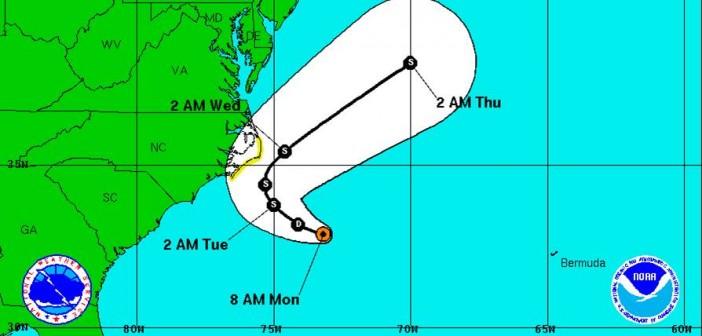 Tropical depressions, hurricane threaten region with heavy surf, rains this week