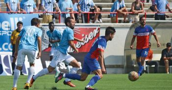 Photo by Elly Colwell. The Wilmington Hammerheads lost their home match against Cincinnati Sunday, Sept. 11 at Legion Stadium.