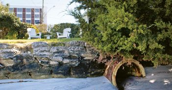 Lumina News file photo. The N.C. Coastal Federation received a grant to retrofit the Blockade Runner Beach Resort's outfall pipes to reduce stormwater runoff into Banks Channel.