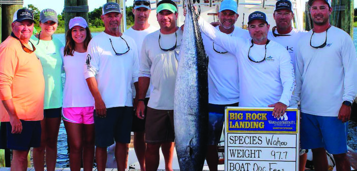 Local boat reels prize for wahoo at Big Rock