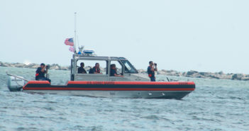 Coast Guardsmen rescue drowning man off Wrightsville Beach, NC