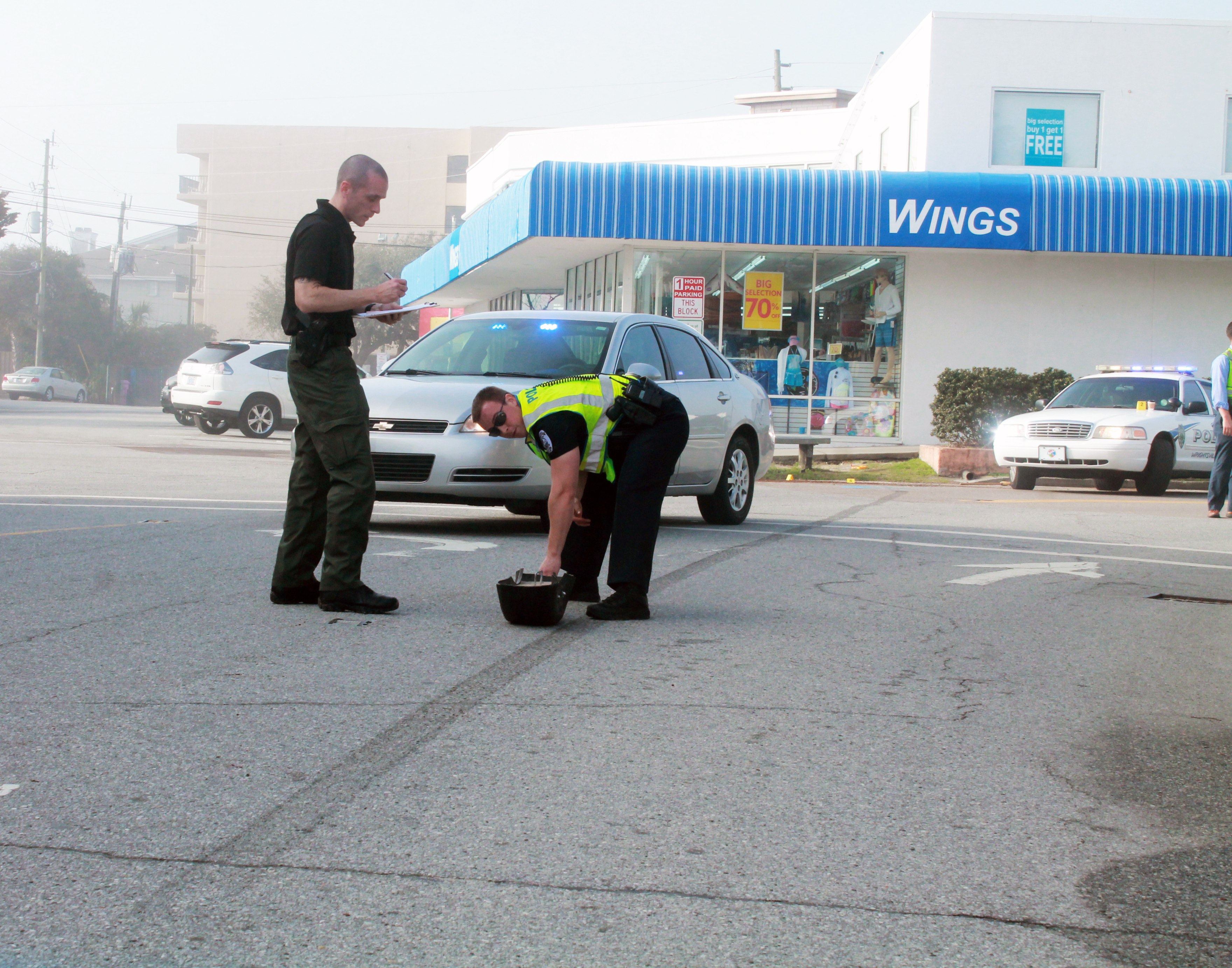 Fleeing driver injures three, charged with DWI by police