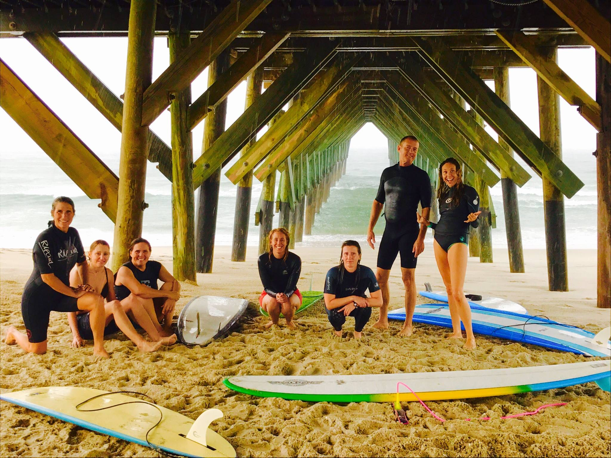WB surf 'family' gives women, novices a tribe of their own