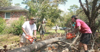 PHOTOS: Grassroots organization Port City Proud offers tree removal service as part of hurricane relief fundraising