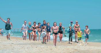Teenage cancer survivor's dramatic finish inspires at Carolina Cup
