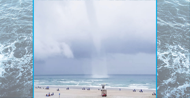 Waterspout sighting on Wrightsville Beach excites witnesses